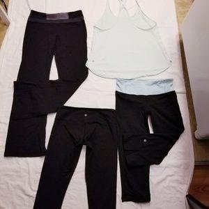 Lululemon size 8 clothing lot